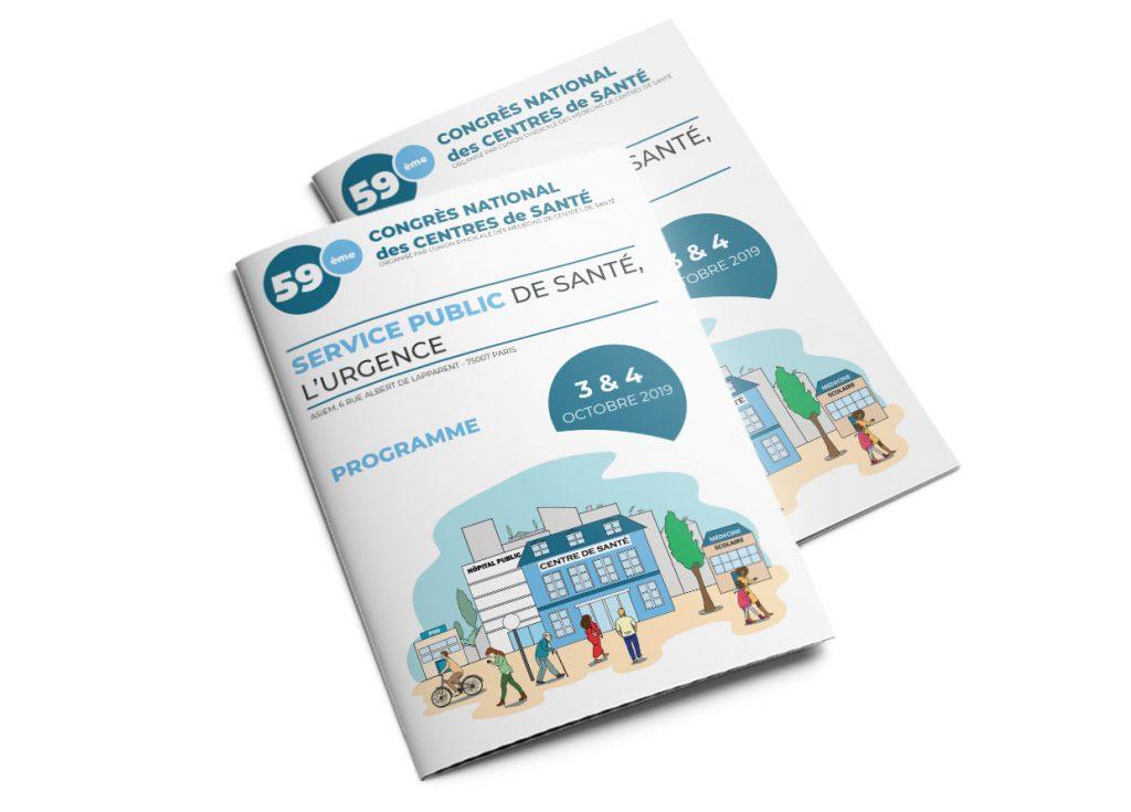 infographie programme congrès des centres de santé couverture 1