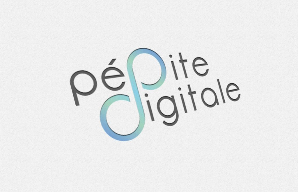 infographie logo pépite digitale couleur