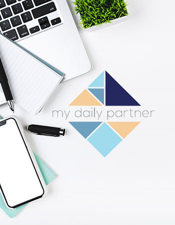 image portfolio création site web my daily partner