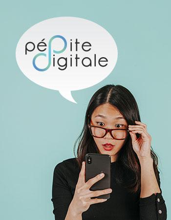 image portfolio création site web pépite digitale