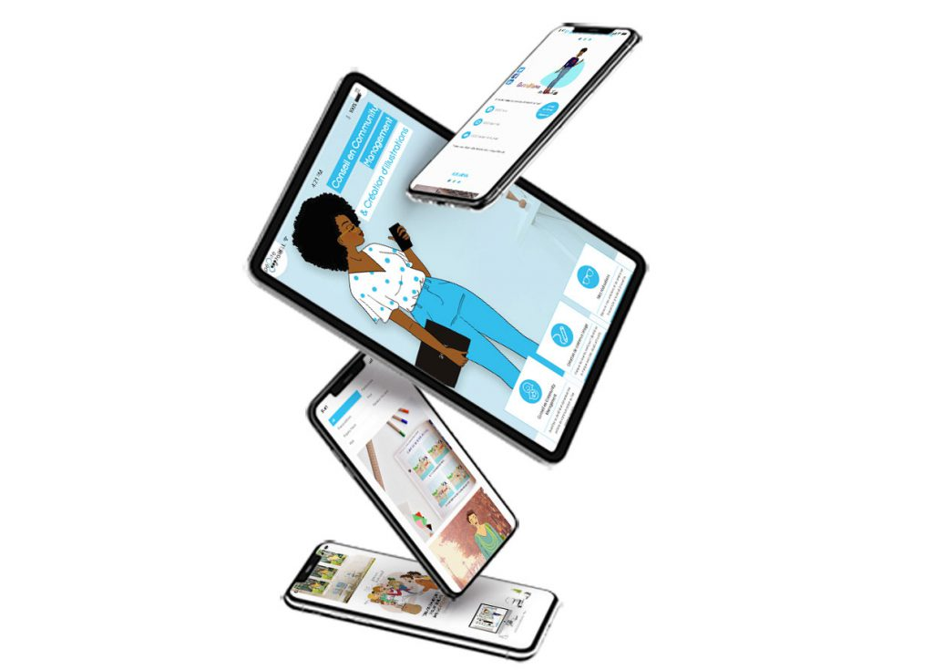infographie site web pépite digitale format mobile